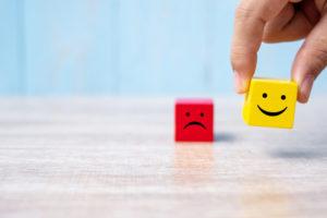 sentimientos positivos negativos